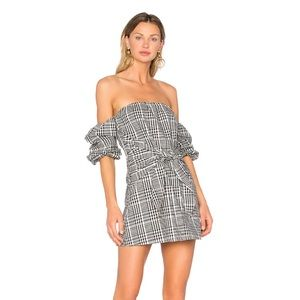 lovers and friends off the shoulder dress